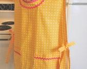 Vintage Retro Style Smock Cobbler in Bright Yellow
