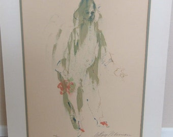 """Leroy Neiman, """"Pierrot"""", Limited Ed., 106/ 200, 1972,  Art & Collectibles, Prints, Lithographs, Reasonable Offers"""