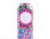 How Bazaar Sprinkle Medley, Gluten-Free, Colorful Sprinkle Mix, Cake Sprinkles, Sprinkles, Multi Sprinkles -- MED (8 oz)