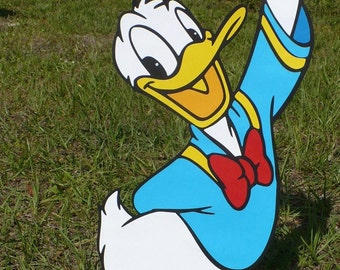 Donald Duck Decoration Stand Up - standee - Party Prop, Disney Decor Mickey Mouse