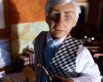 Lionel a retired doll house miniature gentleman by Jo Med.