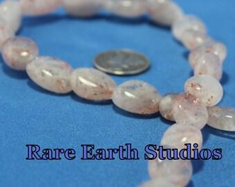 Sunstone Pebble Beads 60216038
