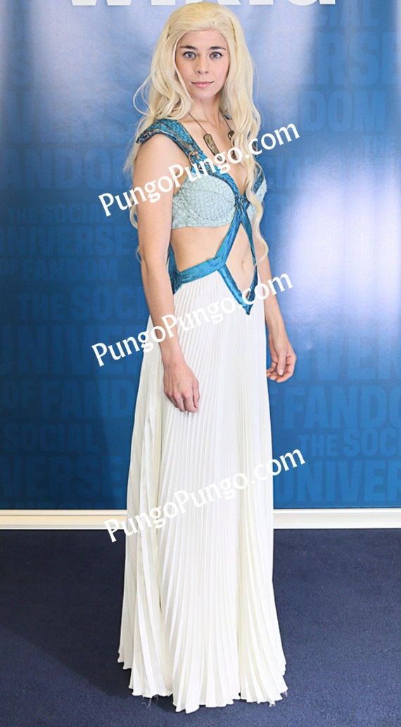 Items similar to Daenerys Targaryen Season 4 Dress | Game ...