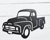 Metal Cutout , Ford Truck , Distressed Metal , Metal Art , Antique Truck ,  Ford Pickup Truck , Old Automobile , Mancave , Gift For Dad