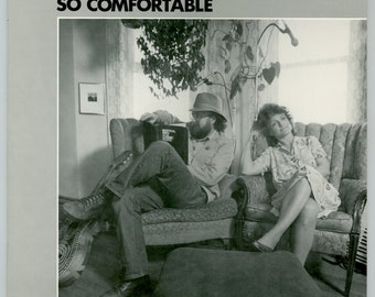 Lou & Peter Berryman, So Comfortable, Humorous Folk Songs Singer - Songwriters Guitar, Accordion Vintage Vinyl Record Album 1984 Cornbelt LP