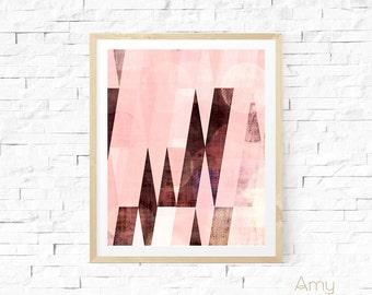 Danish, modern geometric art, swedish wall art, modern painting, abstract painting, abstract art, Graphic art, geometric art, modern