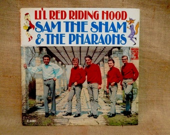 SAM the SHAM & The PHARAOHS - Li'l Red Riding Hood - 1967 Vintage Vinyl Record Album...With Booklet