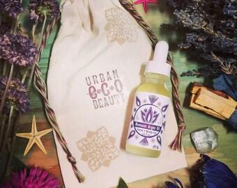 Organic Moroccan Argan Oil Daily Facial Serum / Skin Super Food, Anti Aging Beauty Serum, Dry Oil, Facial Primer, Daily Moisturizer, Vegan