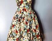 1950 style Swing dress 'Poppy'