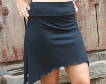 Pixie Flirt Mini Skirt Your Choice Of Color Organic Cotton Soy Spandex USA Made