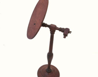 Antique Hat Stand, Wood Hat Rack, Store Display, Adjustable Display - Boutique Hat Stand