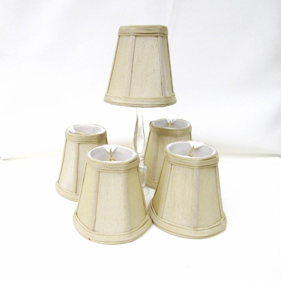 Vintage Light Sconce Shades / Small Lamp Shades / by WhimzyThyme