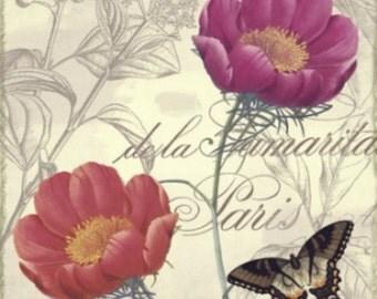 Petals of Paris I - Cross stitch pattern pdf format