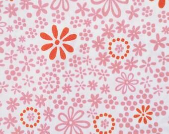 Flowers and Dots | Monaluna Organic Cotton | 1/4 yard