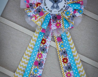 mommy to be corsage mommy to be pin baby shower corsage baby shower