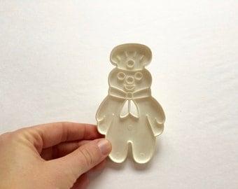 Vintage Pillsbury Dough Boy Cookie Cutter / 1989 / funny / novelty