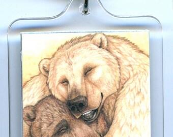 Bear Hug Keychain