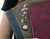 Candy Bookmark Truffle Beaded Ribbon Book Thong Chocolate Valentines Day Sweet