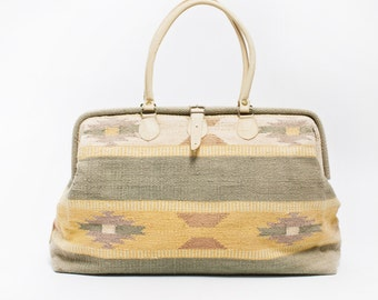 Vintage Carpet Bag Etsy