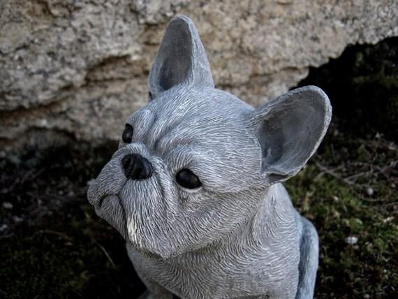 French Bulldog Statue Frenchie Bulldog Statues Concrete Dog
