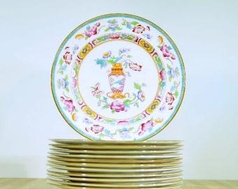 Vintage Royal Doulton E2928 Dinner Plates: Set of 4