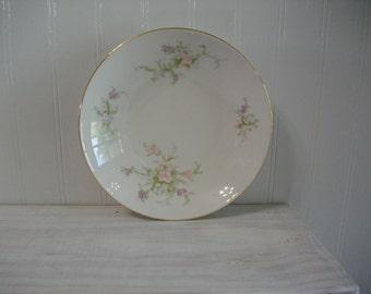 Highlight China Bowl / Vintage China Vegetable Bowl / Vintage Highlight China Serving Dish Bowl