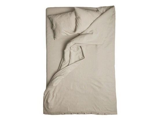 Natural grey linen duvet Queen size duvets King size duvet cover Full size linen duvet Twin size duvet Double size linen bedding