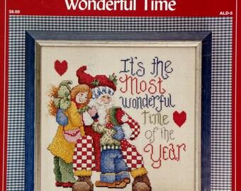 Alma Lynne WONDERFUL TIME Counted Cross Stitch Chart