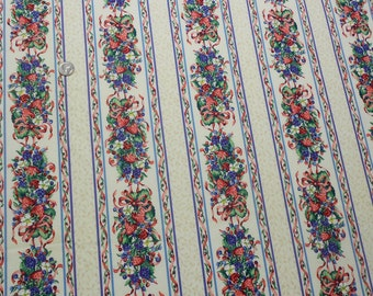 Berries and Stripes Fabric