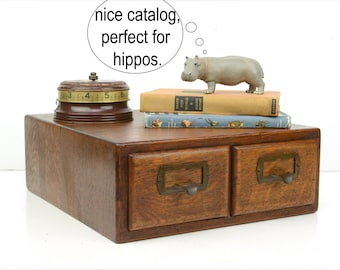 "card catalog, library catalog, Shaw Walker, antique, cabinet, tiger oak, rustic, industrial, library card catalog, 15"" x 13.5"""
