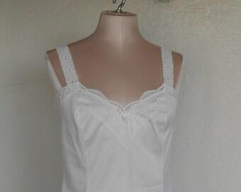 Vintage Camisole Olga 925 Size 32 White