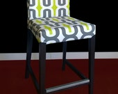 "SAMPLE SALE Ikea HENRIKSDAL Bar Stool Chair Cover - Embrace Macon, 26"" x 19"", Ready to Ship"