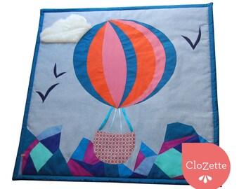 Comfy Baby play mat, hot air baloon