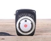 Vintage GE PR-1 Light Meter / Working General Electric Exposure Meter Camera Accessory / Vintage Camera Light Meter / Camera Decor Set Prop