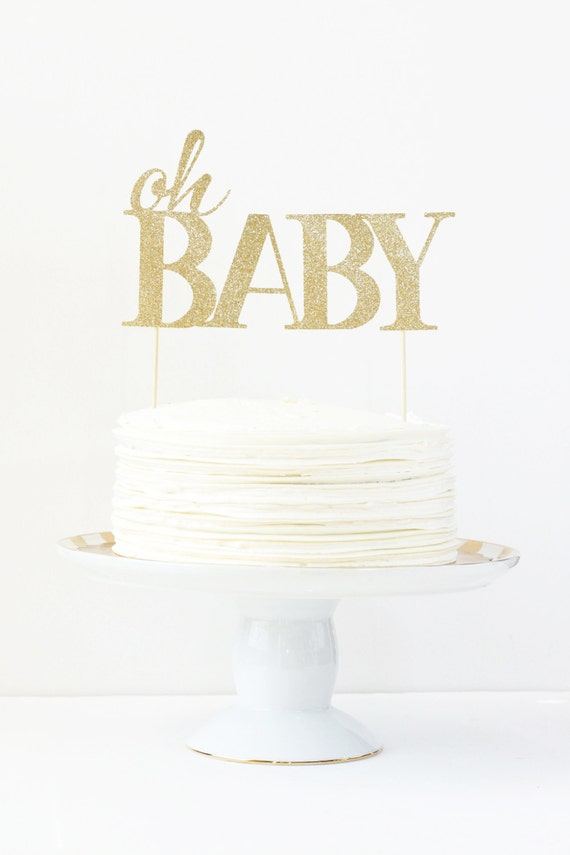 baby shower cake topper oh baby cake topper gender reveal party gold glitter party supplies baby girl cake topper girl shower decorations from