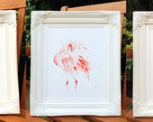 Set of 3 Giclee Prints: Pink Flamingo Series (Watercolour paintings)