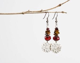 Bohemian Trinket Dangle Earrings