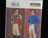 Butterick Costume Pattern 3723 19th Century Men Military NEW Size L XL
