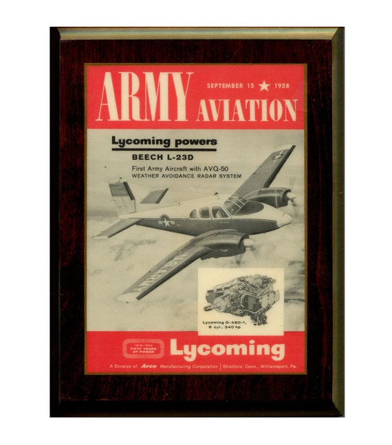 Vintage Aviation Wall Decor : Vintage aviation wall decor art laminated wood plaque
