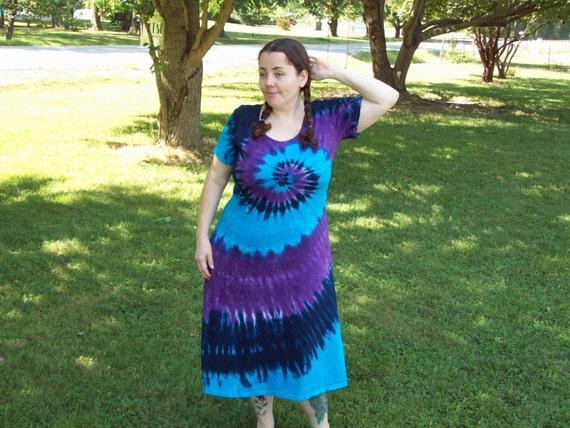 s m l xl 2xl 3xl tie dye dress plus size tie dye dress
