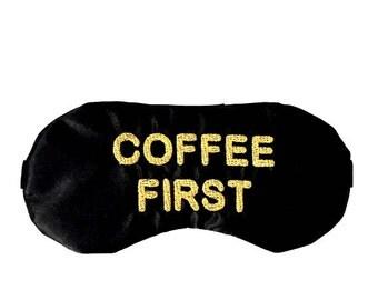 COFFEE FIRST sleep mask