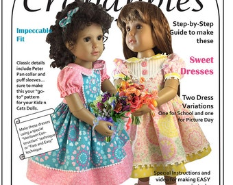 School Girl Dresses for Kidz n Cats Dolls