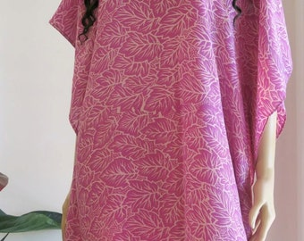 Silk Kaftan, Caftan, Cover up, Summer Dress