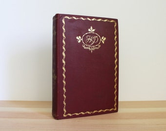 Antique Book // The Holly Edition of the Works of Washington Irving // Volume II // Bonneville