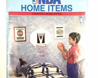 NBA Home Items Counted Cross Stitch Volume 902 by Nomis Chicago Bulls LA Lakers Boston Celtics Orlando Magic Detroit Pistons Denver Nuggets