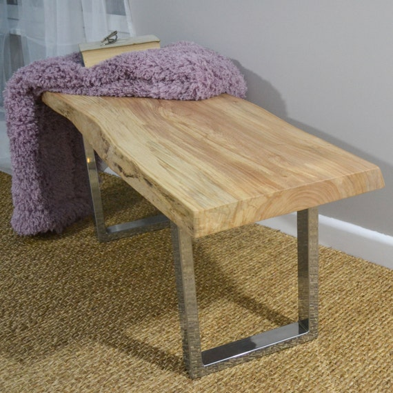 Coffee Table Replacement Legs: Steel Box Bench Or Side Table Base By FrancesBradleyDesign