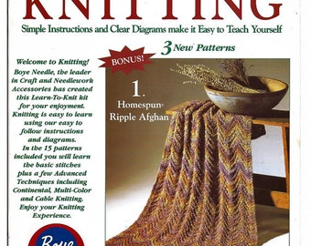 I Taught Myself Knitting by Boyle 6378