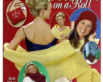 Fun Fashion Accessories on a Roll Crochet Pattern Annies Attic 874017