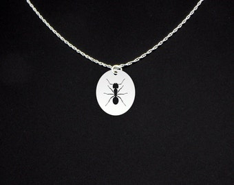 Ant Necklace - Ant Jewelry - Ant Gift - Bug Necklace - Bug Jewelry - Bug Gift - Insect Necklace - Insect Jewelry