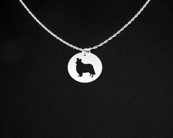 Shetland Sheepdog Necklace - Shetland Sheepdog Jewelry - Shetland Sheepdog Gift